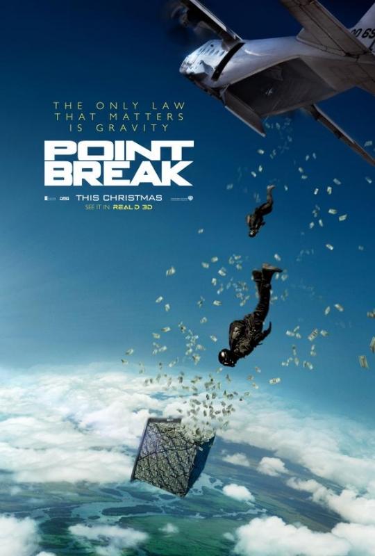'Point Break' Teaser Poster