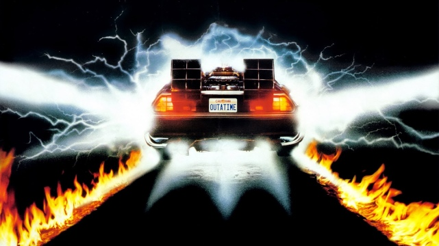 'Back to the Future' Wallpaper