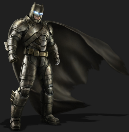Armored Batman Promo Art