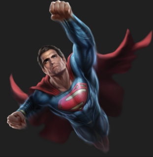 Superman Promo Art