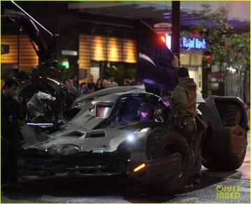 On set 'Suicide Squad'