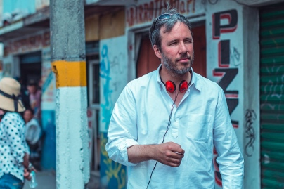 Denis Villeneuve on set 'Sicario'