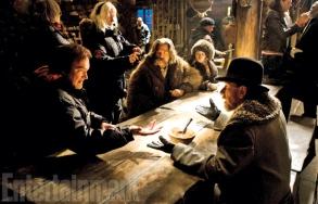On set 'The Hateful Eight'