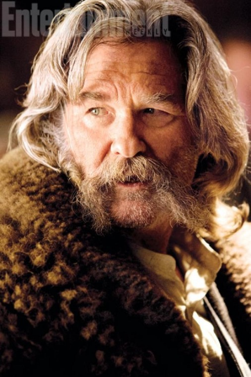 """John Ruth aka """"The Hangman"""" (Kurt Russell), a """"mean sonuvabitch with a code as intractable as a noose."""""""