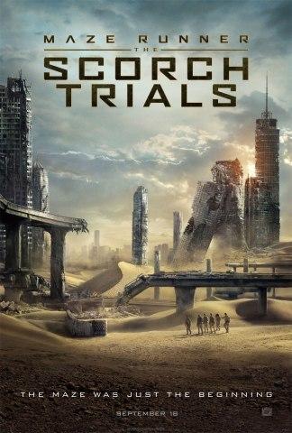 'Maze Runner: The Scorch Trials' Teaser Poster