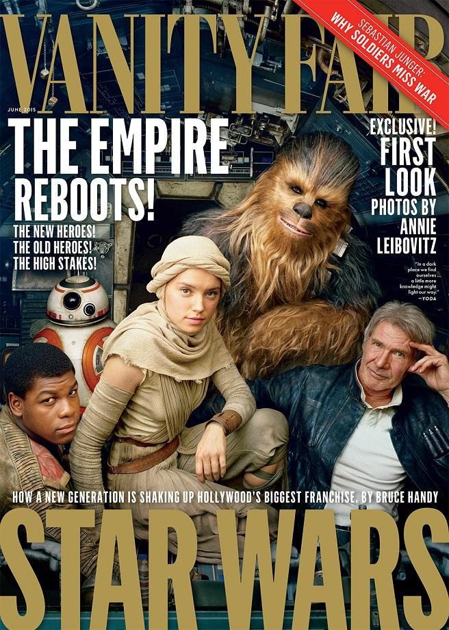 Vanity Fair 'Star Wars: The Force Awakens' Photo