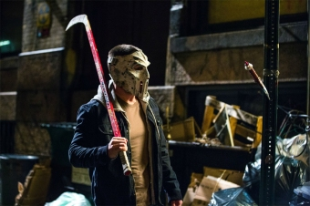 Stephen Amell in 'Teenage Mutant Ninja Turtles 2'