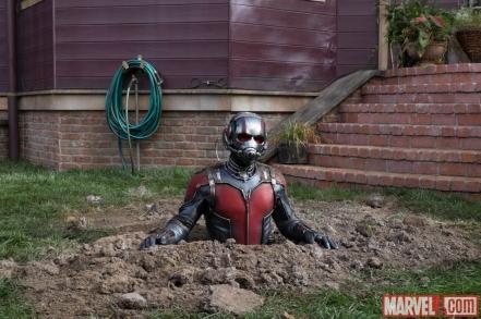 Paul Rudd as Ant-Man in 'Ant-Man'