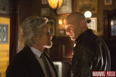Michael Douglass & Corey Stoll in 'Ant-Man'