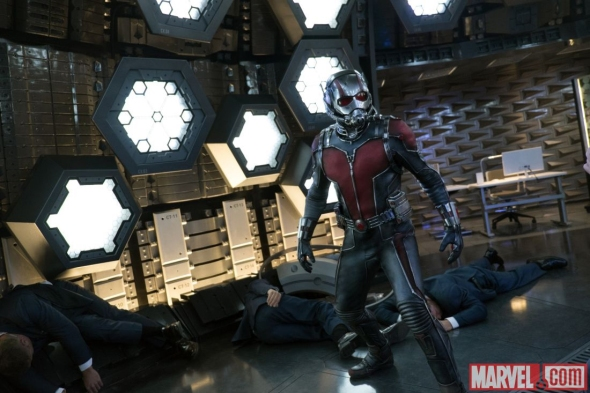 Paul Rudd as Ant-Man in 'Ant-Man'