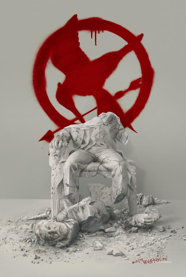 'The Hunger Games: Mockingjay - Part 2' Teaser Poster