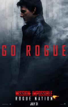'Mission: Impossible - Rogue Nation' Ethan Hunt Character Poster