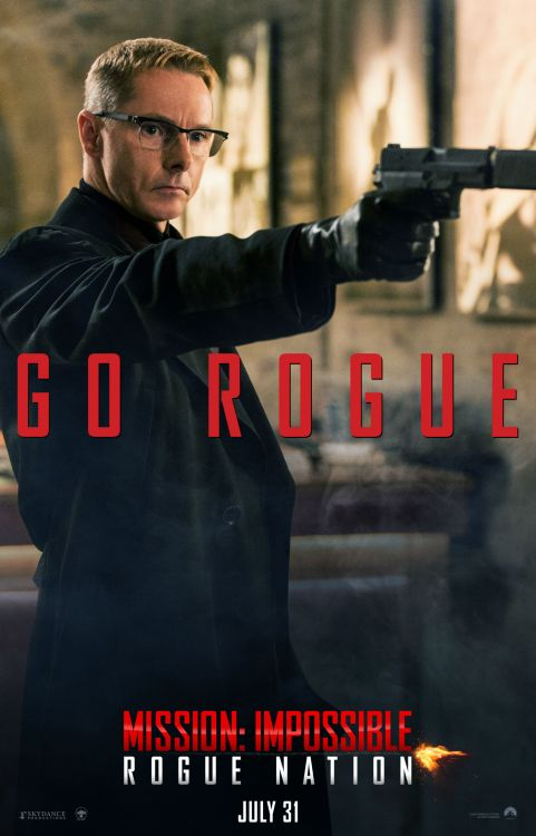 'Mission: Impossible - Rogue Nation' Character Poster