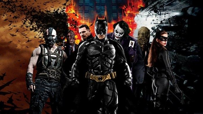 'The Dark Knight' Trilogy