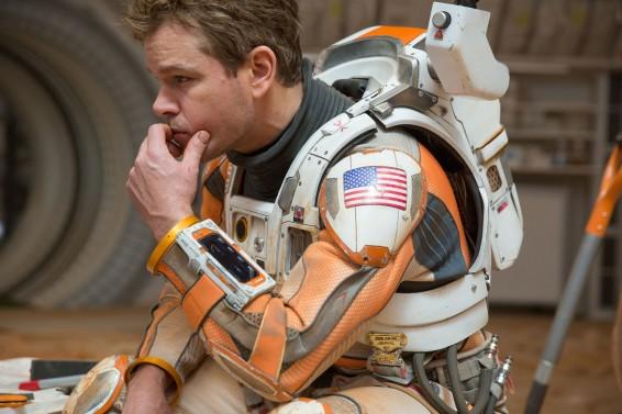 Matt Damon as Astronaut Mark Watney in 'The Martian'