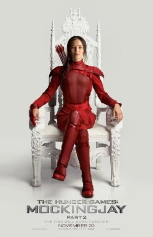 'The Hunger Games: Mockingjay - Part 2' Teaser Poster