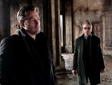 Ben Affleck & Jeremy Irons in 'Batman V Superman: Dawn of Justice'