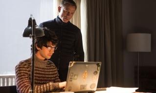 Ben Whishaw & Daniel Craig in 'Spectre'