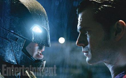 Ben Affleck & Henry Cavill in 'Batman V Superman: Dawn of Justice'
