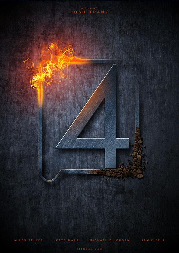 Fan Made Fantastic Four Teaser Poster Apocaflix Movies