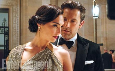 Gal Gadot & Ben Affleck in 'Batman V Superman: Dawn of Justice'