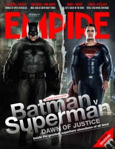 'Batman V Superman: Dawn of Justice' Empire Cover