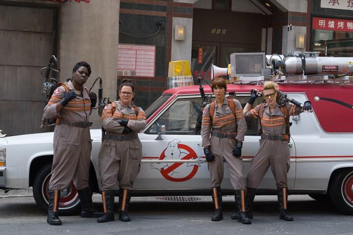 Leslie Jones, Melissa McCarthy, Kristen Wiig & Kate McKinnon for 'Ghostbusters'