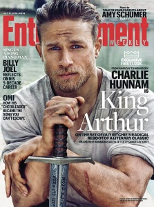 'Knights of the Roundtable: King Arthur' EW Cover