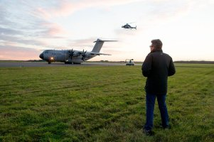 Christopher McQuarrie on set 'Mission: Impossible - Rogue Nation'