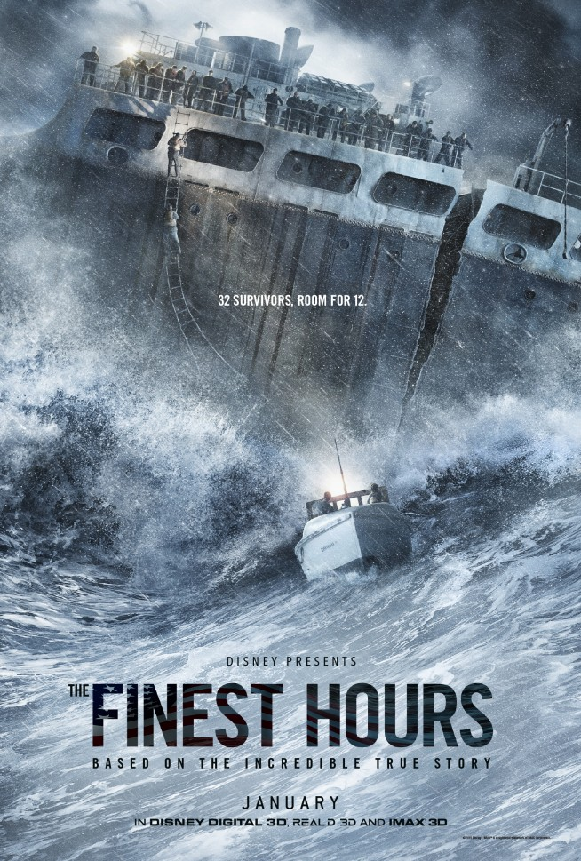 'The Finest Hours' Teaser Poster