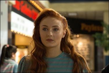 Sophie Turner as Jean Grey in 'X-Men: Apocalypse'
