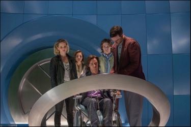 Jennifer Lawrence, Rose Byrne, James McAvoy, Lucas Till & Nicholas Holt in 'X-Men: Apocalypse'