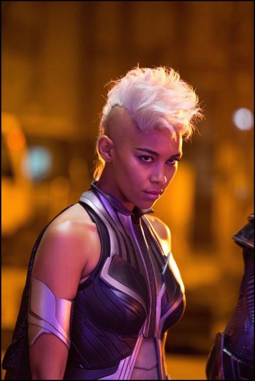 Alexandra Shipp as Storm in 'X-Men: Apocalypse'