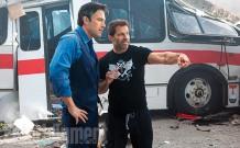 Ben Affleck & Zack Snyder on set 'Batman V Superman: Dawn of Justice'