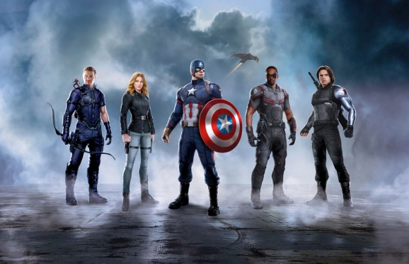 Team Captain America Promo Art