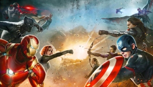 'Captain America: Civil War' Promo Art