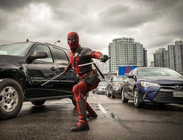 Ryan Reynolds as Deadpool in 'Deadpool'