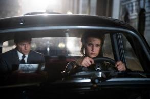 Henry Cavill & Alicia Vikander in 'The Man from U.N.C.L.E.'