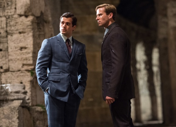 Henry Cavill & Armie Hammer in 'The Man from U.N.C.L.E.'