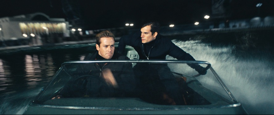 Armie Hammer & Henry Cavill in 'The Man from U.N.C.L.E.'