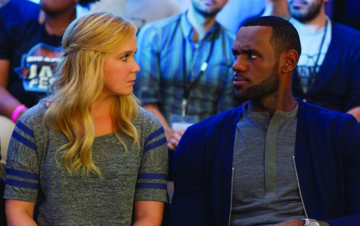 Amy Schumer & LeBron James in 'Trainwreck'