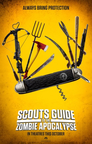 'Scouts Guide to the Zombie Apocalypse' Poster