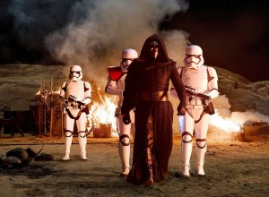 Adam Driver as Kylo Ren in 'Star Wars: The Force Awakens'