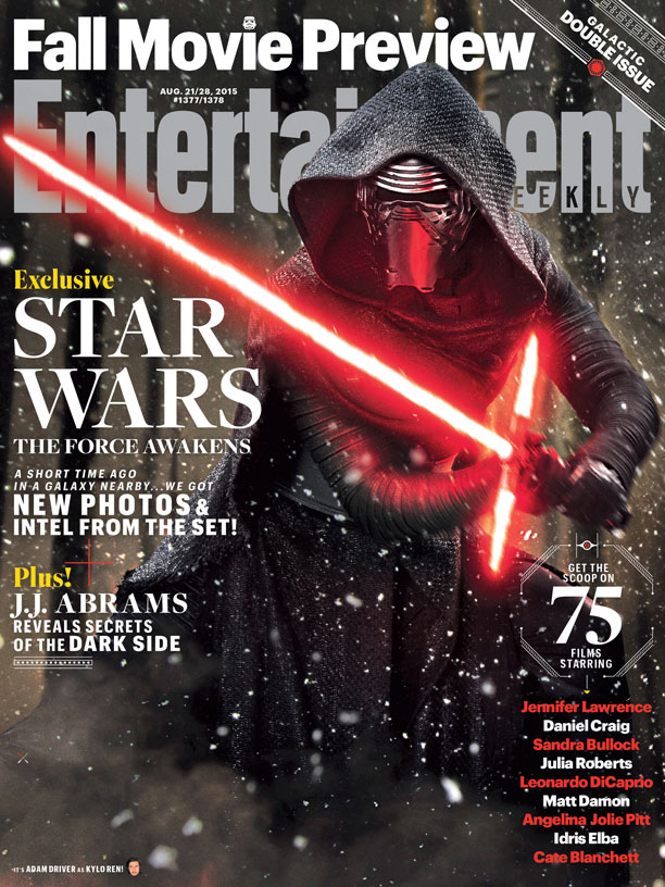 'Star Wars: The Force Awakens' EW Cover