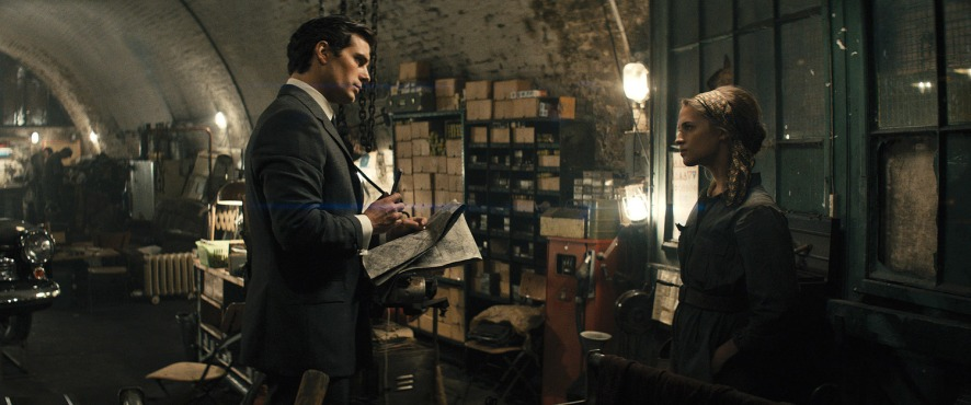 Henry Cavill & Alicia Vikander in 'The Man from U.N.C.L.E.'