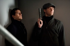 Henry Cavill & Armier Hammer in 'The Man from U.N.C.L.E.'