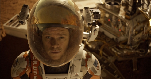 Matt Damon as Astronaut Mark Watney in 'The Martian'
