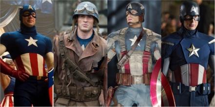 Captain America Uniforms