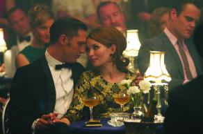 Tom Hardy & Emily Browning in 'Legend'