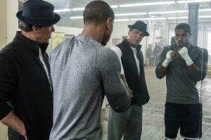 Sylvester Stallone & Michael B. Jordan in 'Creed'